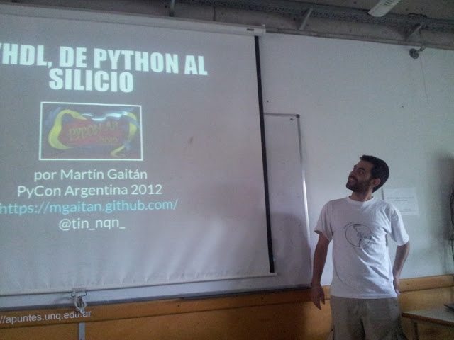 Track científico — PyCon Argentina 2012 - PostMortem 13 01